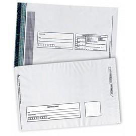envelope plástico de segurança aba e fita adesiva inviolável