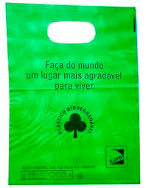 plástico biodegradável