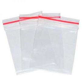plástico zipado