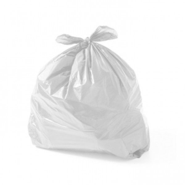 saco plástico leitoso