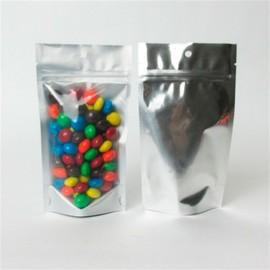 saco com zip personalizados para alimentos