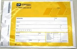 Envelope banco do brasil