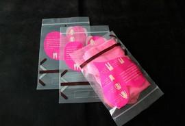 Saco impresso com zip lock
