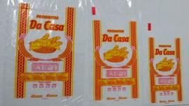 Saco PEBD Impressos Adesivos