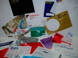 Saco Personalizado Adesivo Impresso