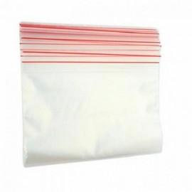 Saco de Plástico com Adesivo para Alimentos