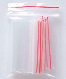 Saco Plástico Fechos Zip