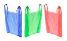Saco plástico reciclado