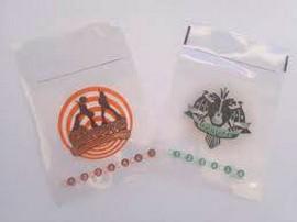 Saco de Plástico com Zip Impressos