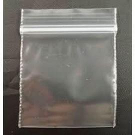 saco de plástico com zip lisos