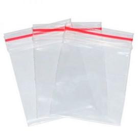 Saco de Plásticos com Fecho Ziplock