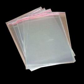 Saco Transparente PEBD Adesivo