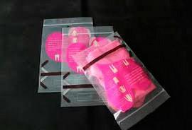 Saco com Zip Personalizados em Plástico