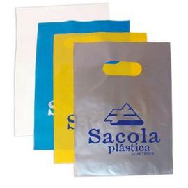 Sacolas plásticas promocionais